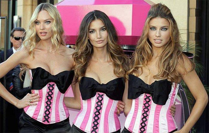Идеальные девушки – ангелы victoria's secret фото