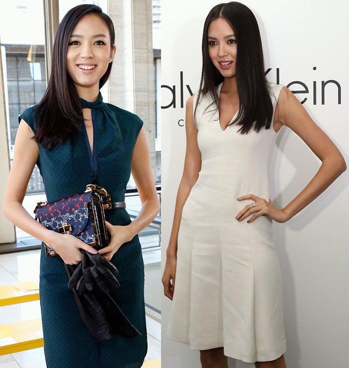 Чжан Цзылинь, модель китаянка - фото