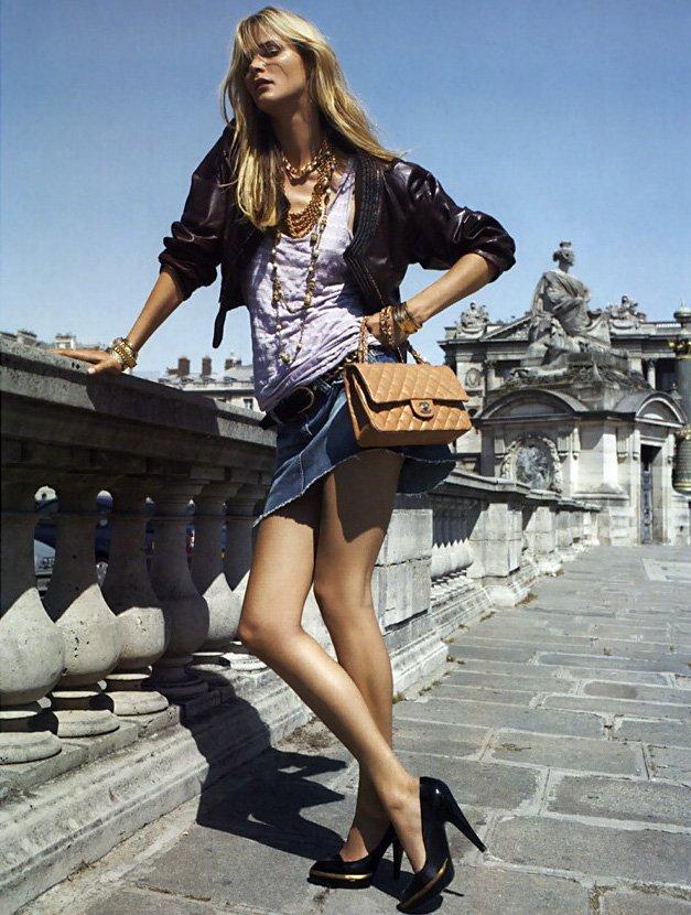 Топ-модель Кармен Касс фото