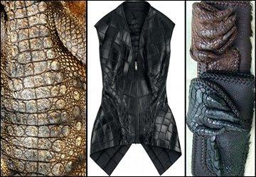 Выделка и изделия из кожи крокодила