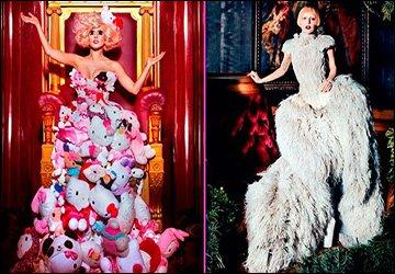 Платья певицы Леди Гага