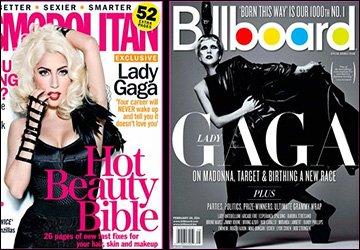Леди Гага фото с обложки журналов