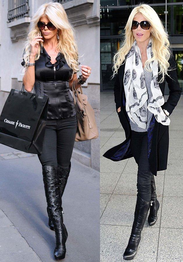 Стиль одежды Виктории Сильвстед