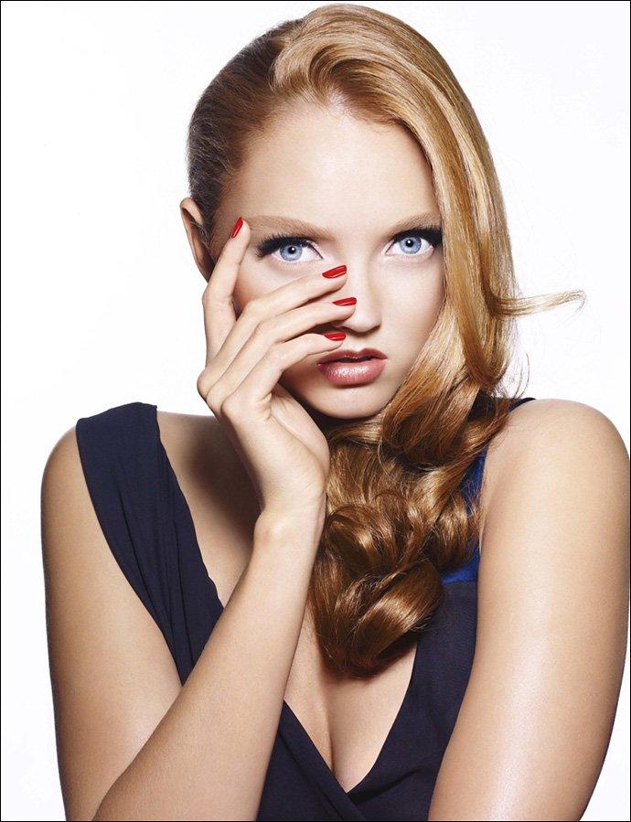 Лили Коул фото из рекламной компании