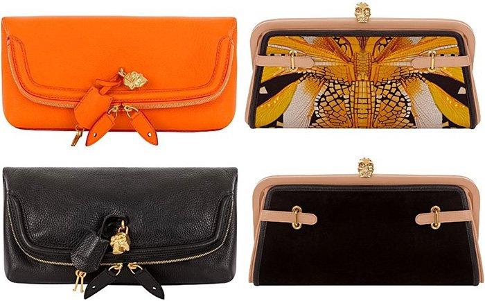 Модные женские сумочки клатчи весна-лето 2013 фото