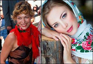 Русские шали и платки