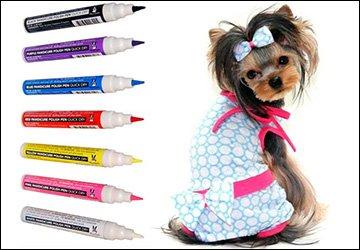 Красота для собак – собачий лак для ногтей!