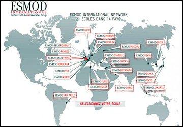 ESMOD - Высшая школа искусств и технологий моды