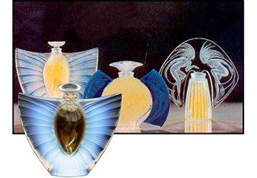 Флаконы для духов от ювелира Рене Лалика