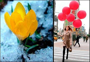 Праздник весны 8е марта