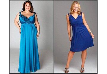 Одежда для полных девушек и женщин