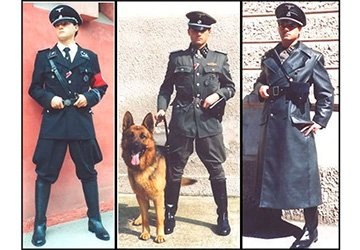 Военная форма Hugo Boss. Дизайнер Карл Дибич