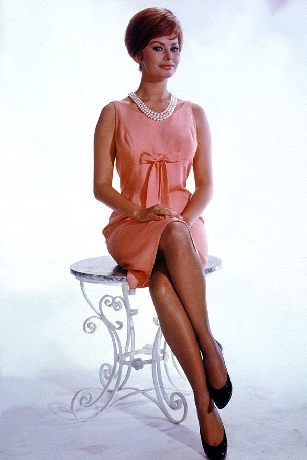 Софи Лорен – цветное фото