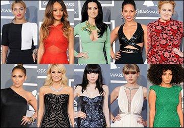 Красивые платья знаменитостей