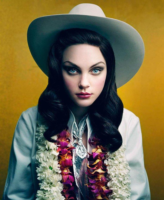 Джессика Стэм фото в шляпе