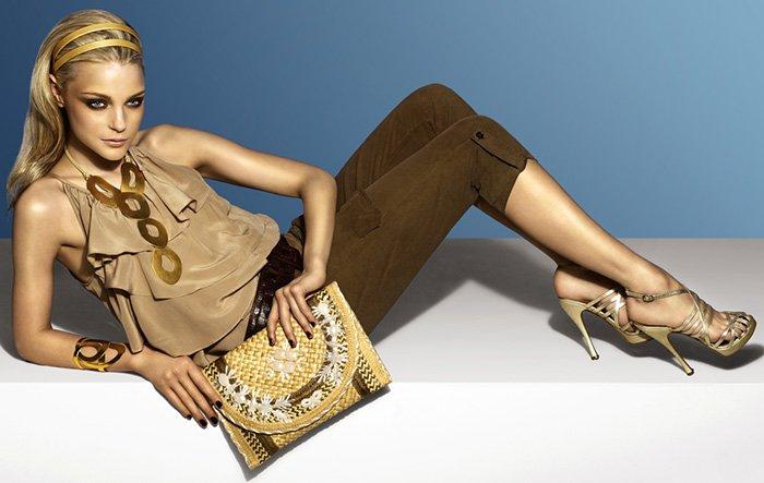 Фотография из рекламной компании, Джессика Стэм