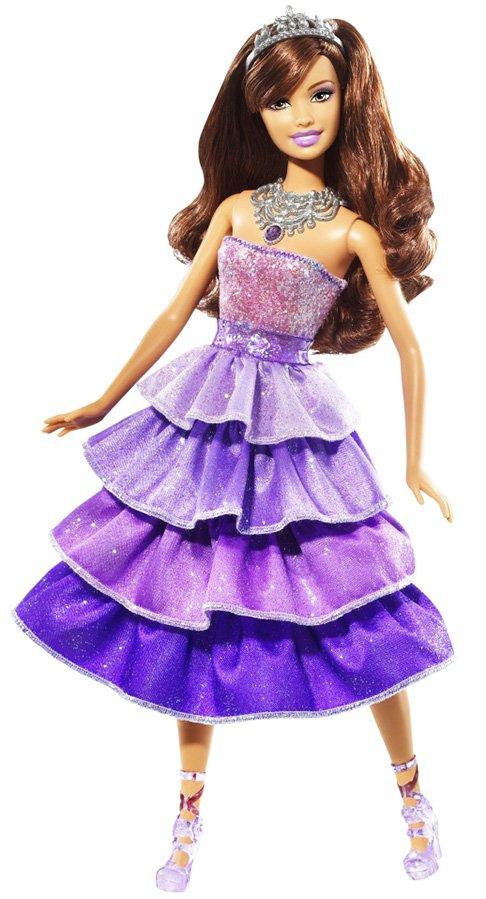 Принцесса Барби в короне