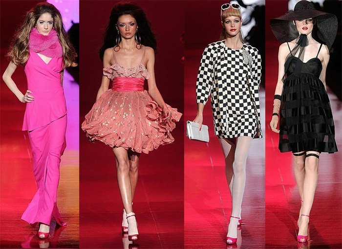 Коллекция модной одежды в стиле Барби, фото