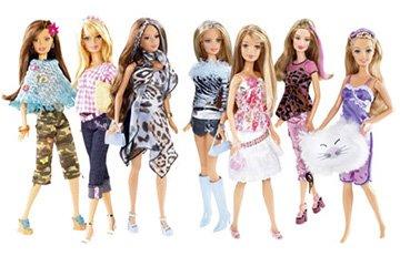 Модные куклы Барби