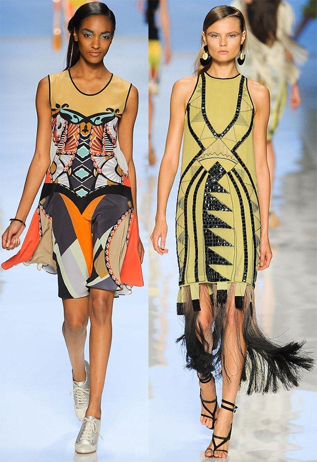 Фото платьев от итальянского бренда Этро