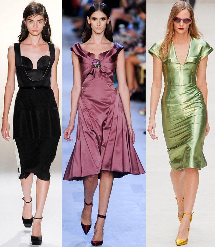 2013 мода платьев
