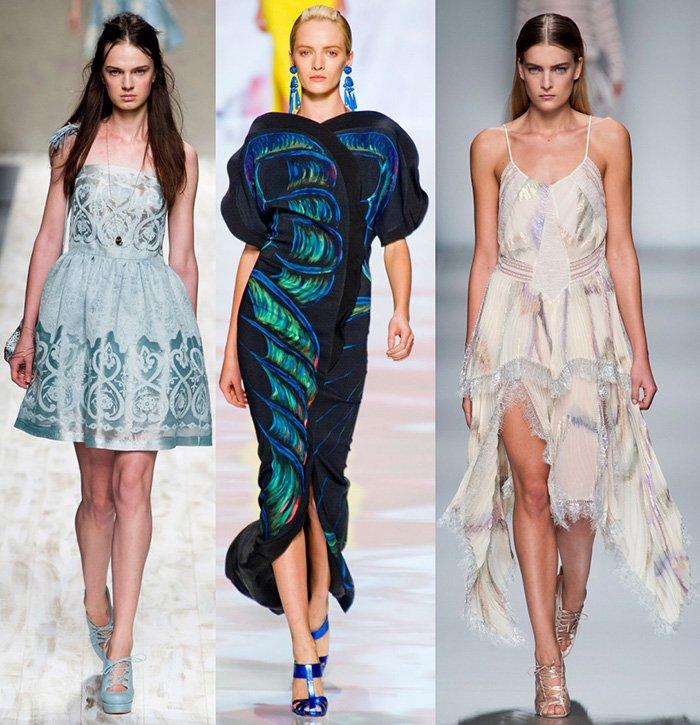 Модные платья весна-лето 2013