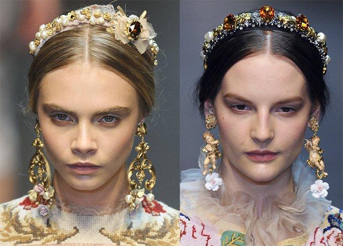 Украшения для волос и бижутерия Dolce & Gabbana фото