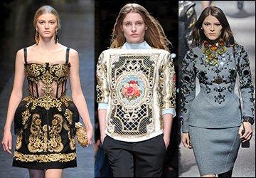 Современный стиль барокко и рококо