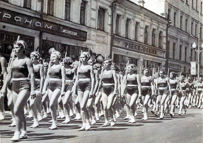 Спортсменки из СССР, фото советских женщин