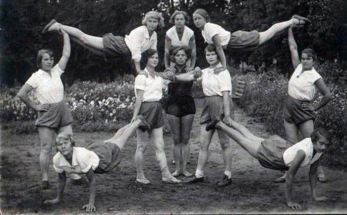 Фитнес и тренировки для женщин из СССР, фото