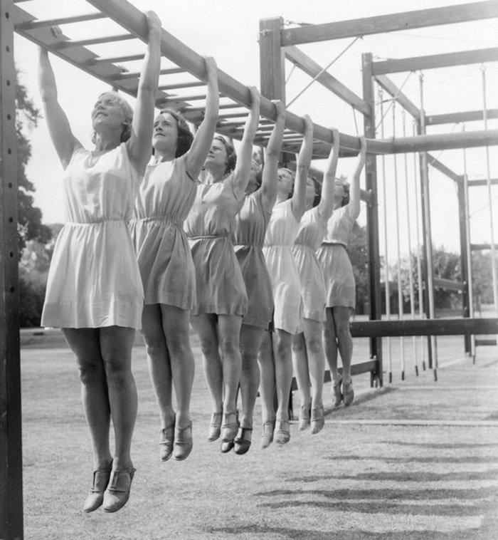 Фитнес тренировки для женщин из СССР фото