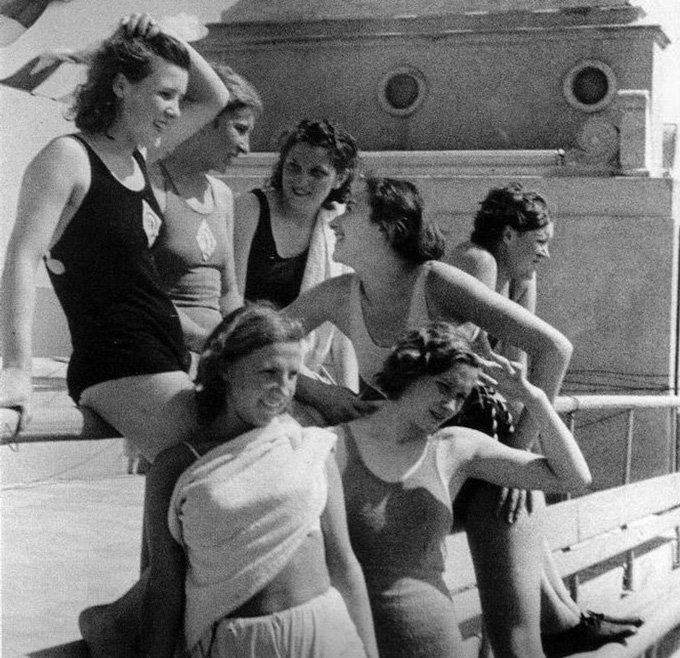 Фитнес для женщин из СССР