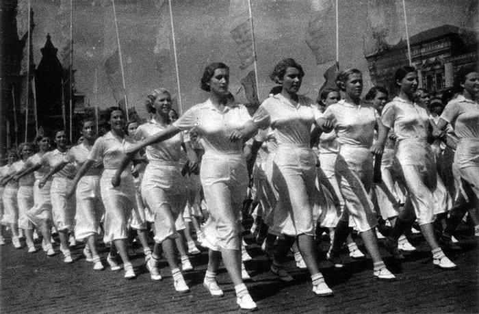 Советские женщины и спорт, фото