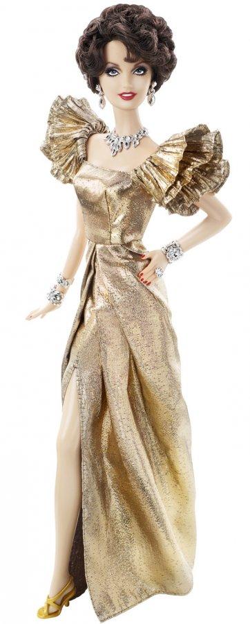 Кукла Барби и вечернее платье