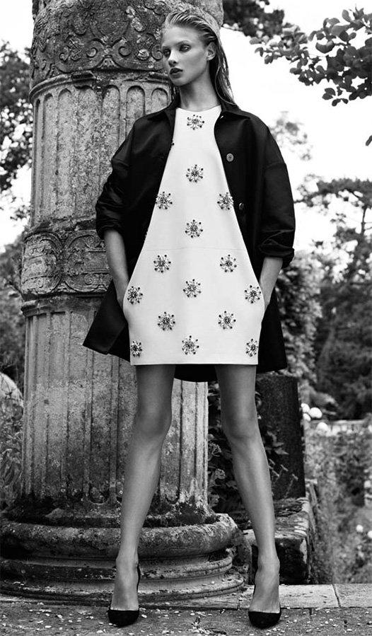 Платье Бальмен из весенней коллекции 2013