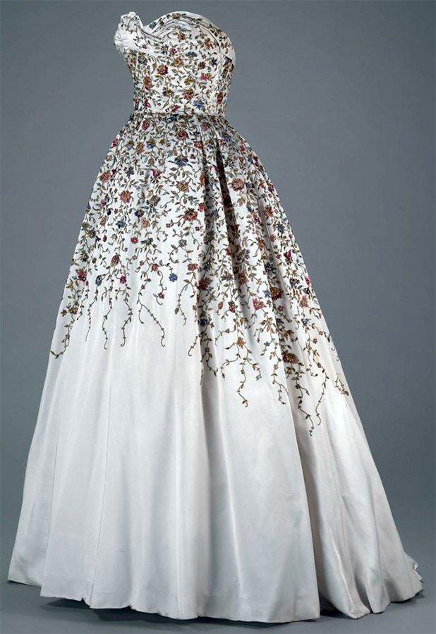 Оригинальное винтажное платье, Balmain фото