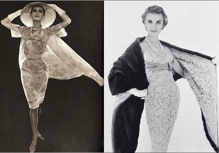 винтажные платья Balmain фото