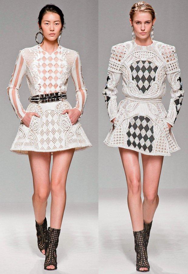 Платья Balmain фото
