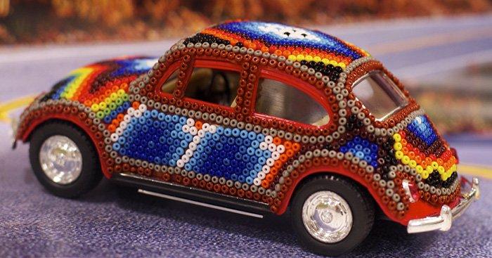 Гламурный автомобиль своими руками, украшение автомобиля, фото