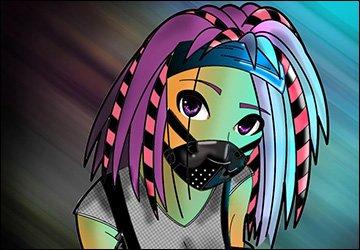 Девушки кибер-готы и их стиль