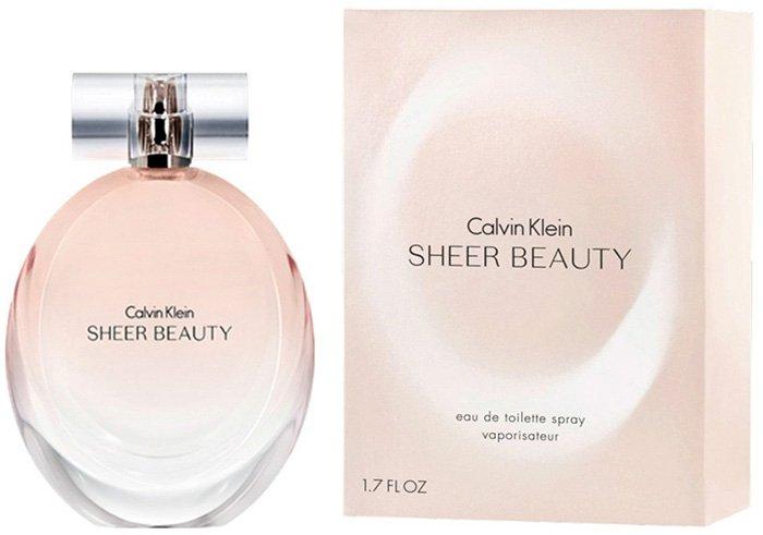 духи с ароматом пиона - Sheer Beauty от Calvin Klein