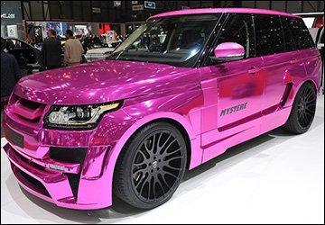 Гламурный автомобиль для девочек