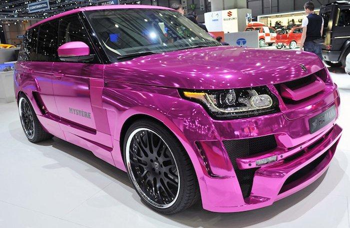 Гламурный автомобиль для русских девушек фото