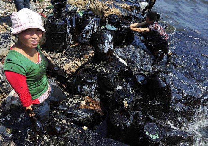 Загрязнение окружающей среды и развитие китайской экономики