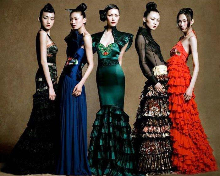 Китайская одежда, фото