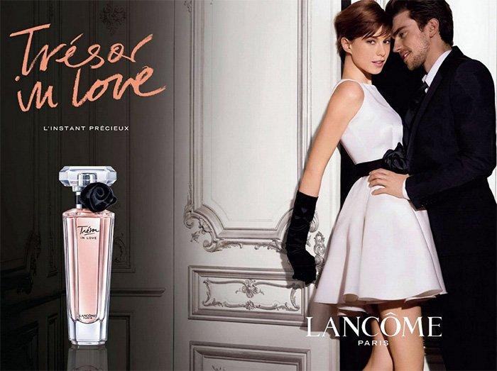 Рекламная компания парфюмерии