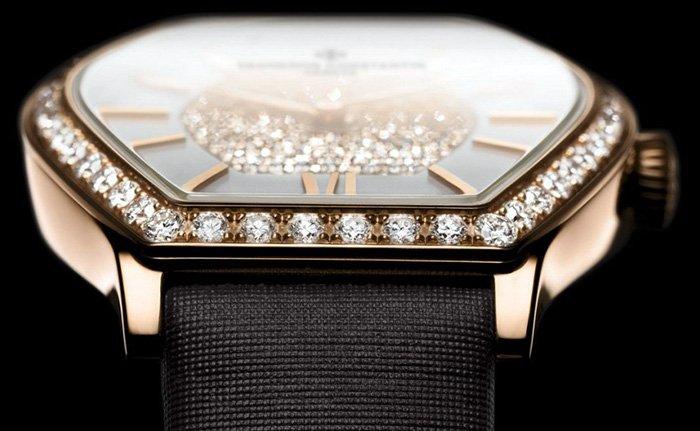золотые женские наручные часы с бриллиантами