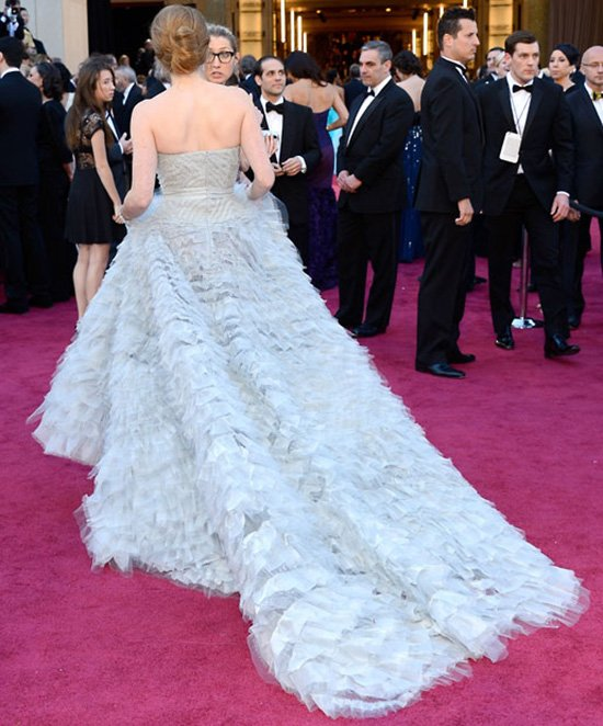 Красивые платья в фото, с вручения премии Оскар