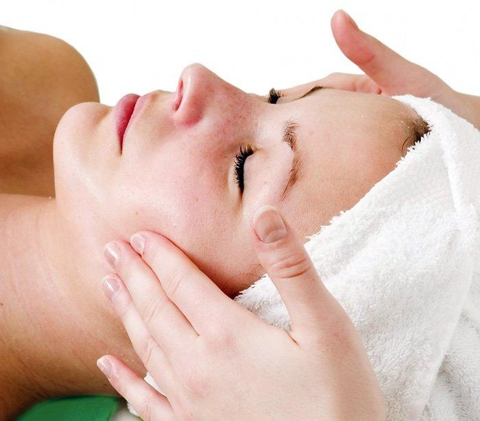Правильный уход за кожей лица - лимфодренажный массаж