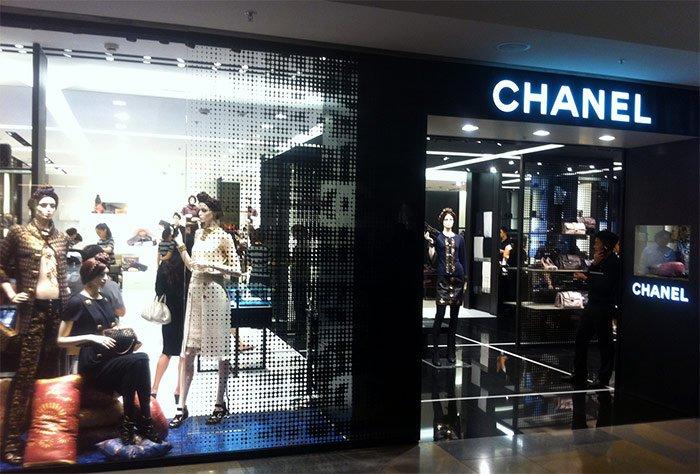 Магазин Chanel фото